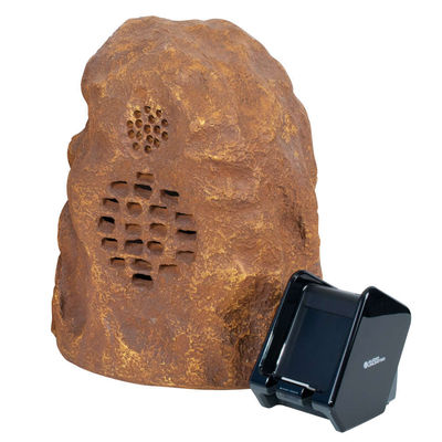 Sandstone Wireless Rock Speaker (Rechargeable) with Dual Power Transmitter