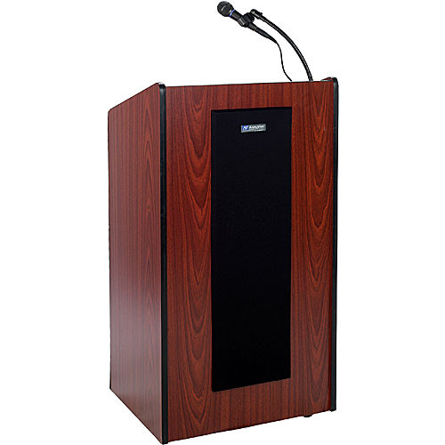 AmpliVox Sound Systems Wireless Presidential Plus Lectern System (Mahogany)