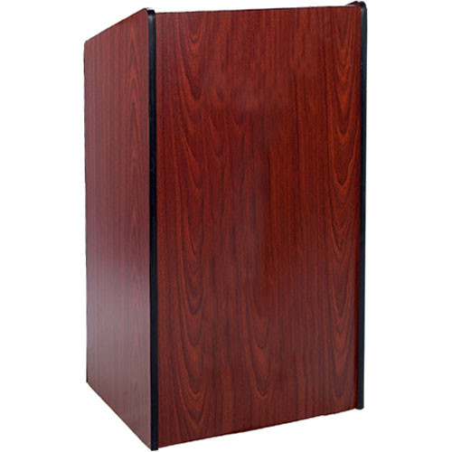 AmpliVox Sound Systems W450 Presidential - Formal Lectern Without Sound (Mahogany)