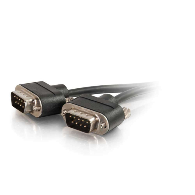 12ft CMG-Rated DB9 Low Profile Cable M-M