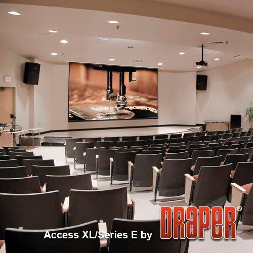 Draper 104812 Access XL/E Motorized Projection Screen 16ft x 16ft