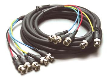 Kramer C-5BM/5BM-3 5 BNC (M) to 5 BNC (M) Cable