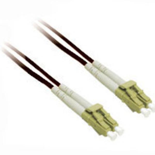 C2G 37364 10m LC-LC 50/125 OM2 Duplex Multimode PVC Fiber Optic Cable - Black