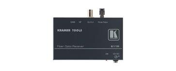 Kramer 611R Composite Video Optical Receiver
