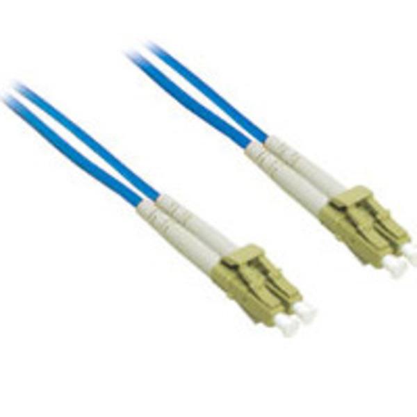 C2G 10m LC-LC 62.5/125 OM1 Duplex Multimode Fiber Optic Cable - Blue (Plenum)