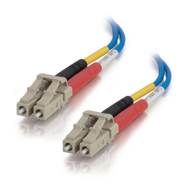 C2G 10m LC-LC 50/125 OM2 Duplex Multimode Fiber Optic Cable - Blue