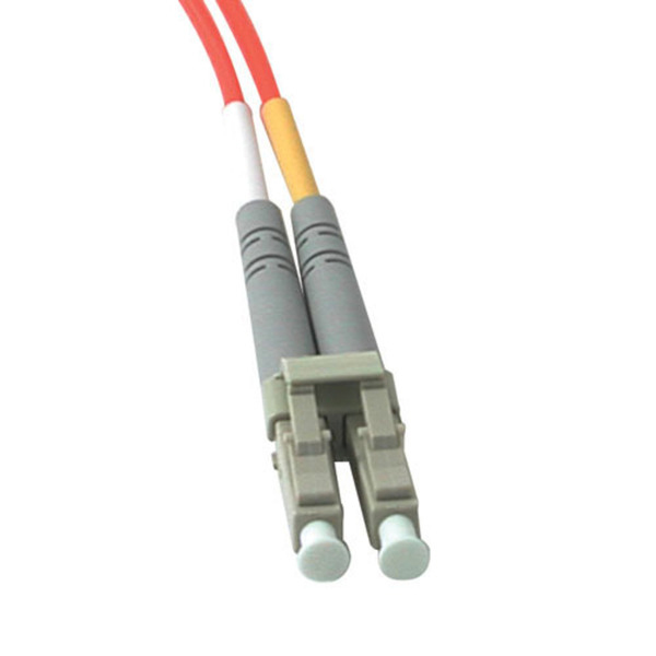 C2G 10m LC-LC 62.5/125 OM1 Duplex Multimode Fiber Cable - Orange