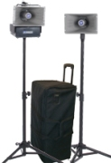 Amplivox SW635 Wireless Handheld Half-Mile Hailer Kit
