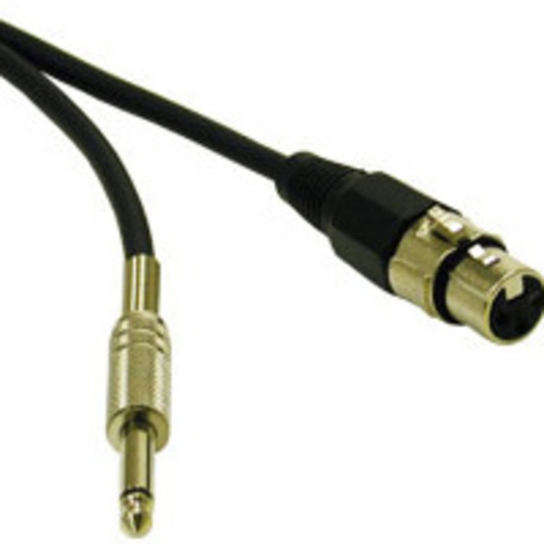 C2G 40040 3ft Pro-Audio XLR Female to 1/4in Male Cable