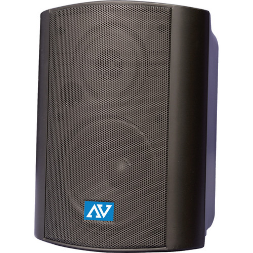 AmpliVox Sound Systems S1232 Powered Wall-Mount Stereo Speakers (Pair)