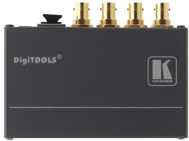 Kramer 673R/T 4-Channel 3G HD-SDI over Fiber Optic Transmitter & Receiver