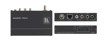 Kramer 714-05 Composite Video & Stereo Audio over Twisted Pair -600m (2000ft) Range