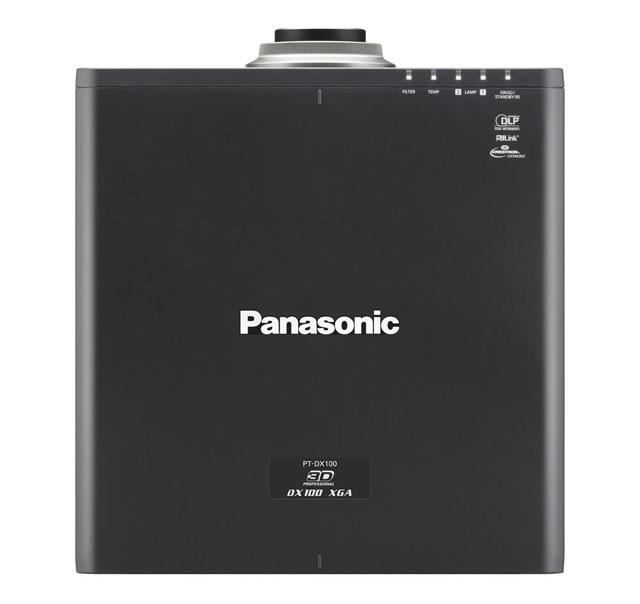 Panasonic PT-DX100ULK 10000lm XGA Projector (Lens Not Included)