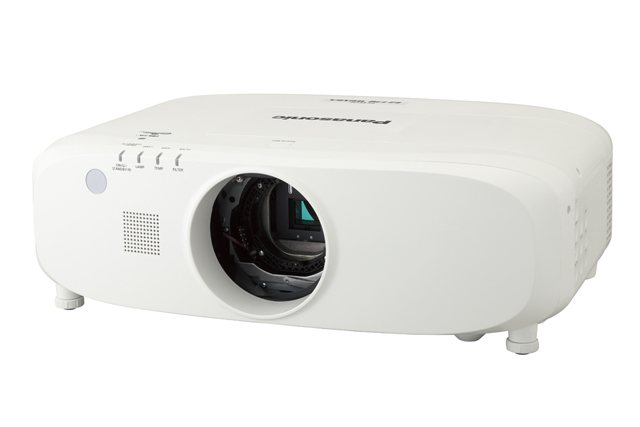 Panasonic PT-EZ770ZLU 6500lm WUXGA Projector (Lens Not Included)