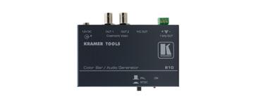 Kramer 810 Composite Video & s-Video Color Bar/Audio Tone Generator