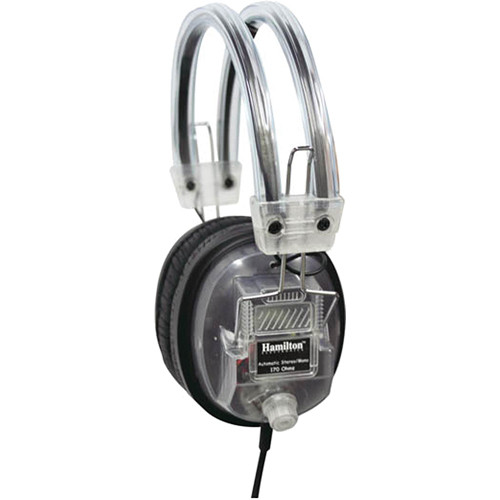 Hamilton Buhl CL-7V SchoolMate Clear Housing Deluxe Headphones