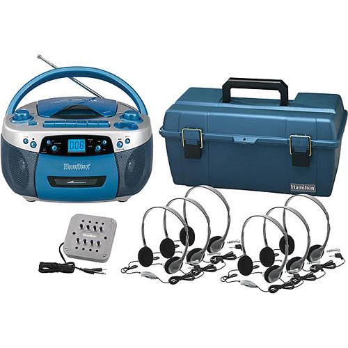 Hamilton Buhl LCP/MPC5050PLUS/HA2V 6-User Portable Boombox Listening Center