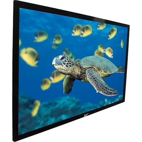 Elite R120WH1-A1080P3 ezFrame Fixed Frame Projector Screen 59x104.7in