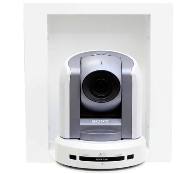 In-wall Camera Enclosure for Sony BRC-300, WallVIEW PRO 300 and WallVIEW CCU 300