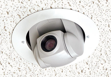 Vaddio 999-2304-000 Half-recessed Ceiling-mounted PTZ Camera System, NTSC