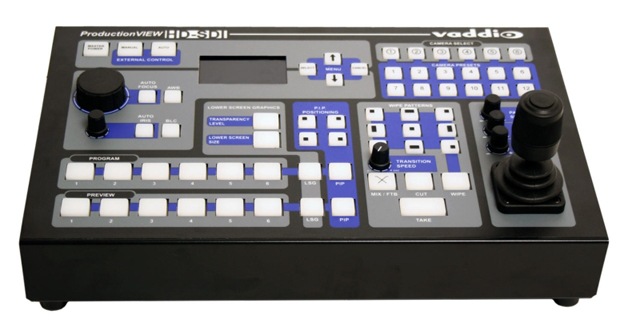 Camera Control Console with HD-SDI/SD-SDI Video Switching, 12 Camera Presets