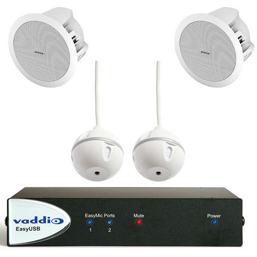 Vaddio 999-8640-000 EasyTalk USB Audio Bundles - System C