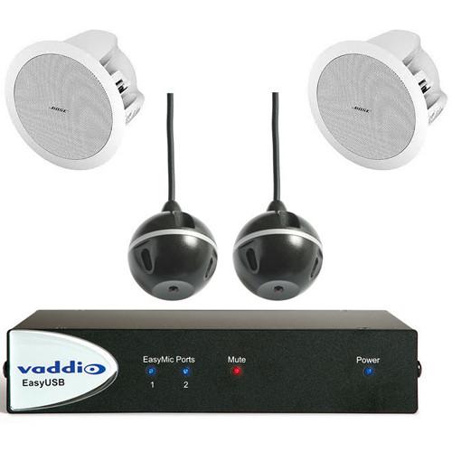 Vaddio 999-8645-000 EasyTalk USB Audio Bundles - System D