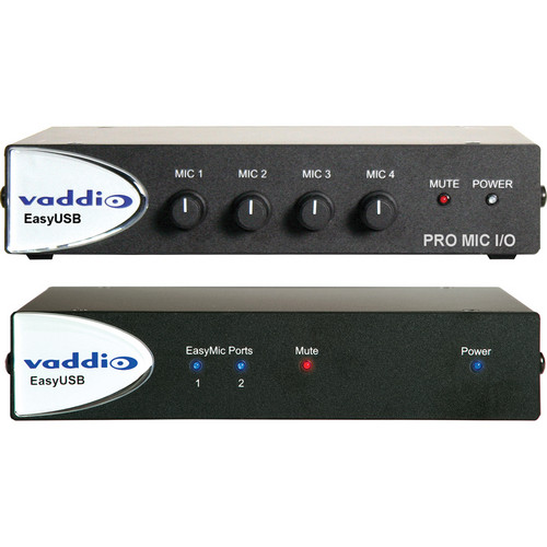 Vaddio 999-8660-000 EasyUSB Audio Bundle System F