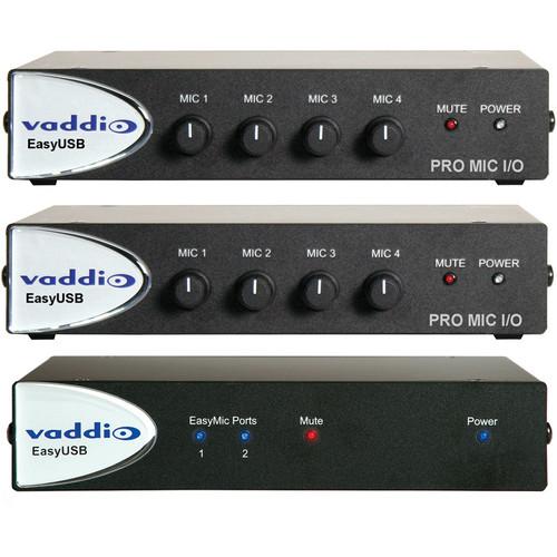 Vaddio 999-8670-000 EasyUSB Audio Bundle System G