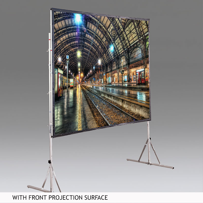 Draper 218200 Cinefold Portable Screen w/ Heavy Duty Legs161in