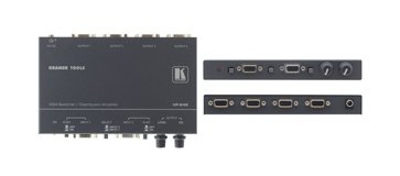 Kramer VP-242 2x1:4 Computer Graphics Video Switcher
