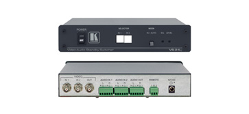 Kramer VS-24XL 2x1 Composite Video & Balanced Stereo Audio Standby Switcher