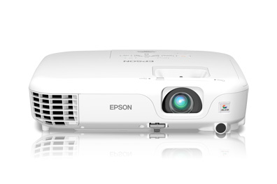 Epson PowerLite Home Cinema 500 3LCD Projector - Silver Edition