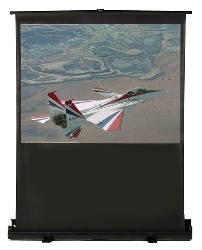 Buhl AC-4836 36 x 48in. Portable Floor Front Projection Screen