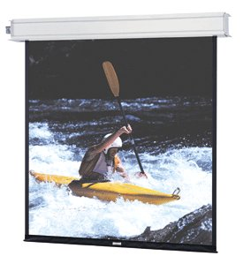 Da-Lite 84300LS 115in Advantage Electrol Motorized Screen, Matte White (4:3)