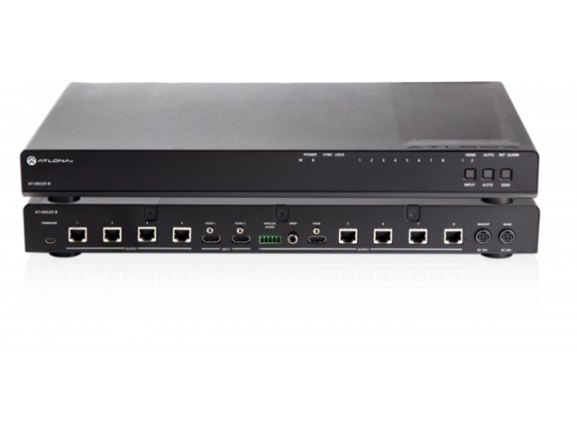 Atlona AT-HDCAT-8 2x8 HDBaseT HDMI Distribution Amp