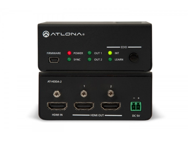 Atlona AT-HDDA-2 1 x 2 HDMI Distribution Amplifier