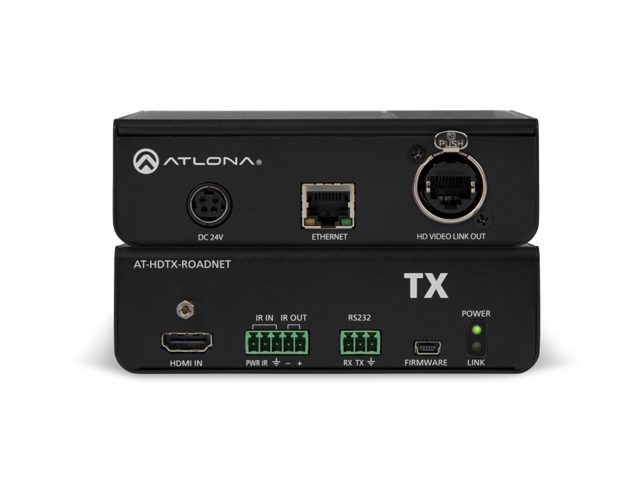 Atlona AT-HDTX-ROADNET HDBaseT TX HDMI Rental/Staging Box Ethernet