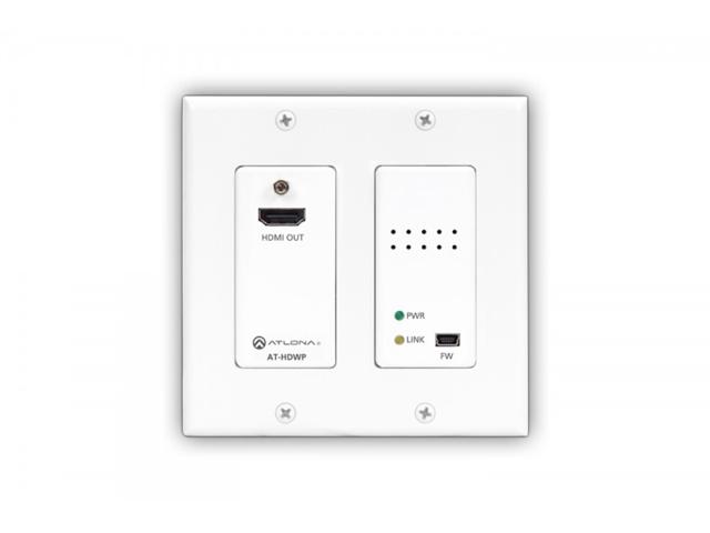 Atlona AT-HDWP 2-Gang HDMI Receiver Wallplate