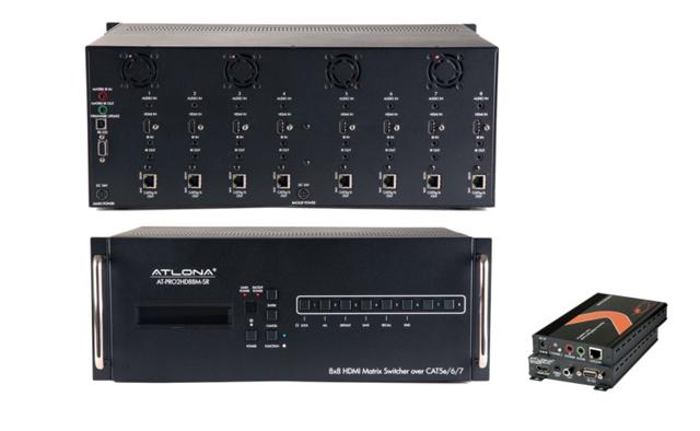 Atlona AT-PRO2HD88M 8x8 HDBaseT HDMI Matrix Switcher