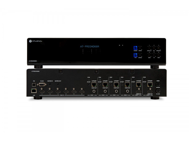 Atlona AT-PRO3HD66M HDMI 6 by 6 Matrix Switcher over a Single Category Cable