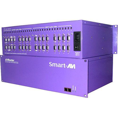 Smart-AVI AV08X08AS 8x8 UXGA and Stereo Router