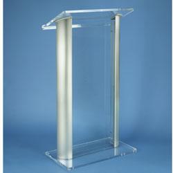AmpliVox SN3080 Contemporary Alumacrylic Lectern