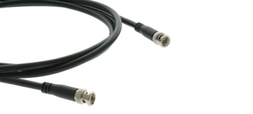 Kramer C-BM/BM-10 10ft 1 BNC (M) to 1 BNC (M) RG-6 Coax Video Cable