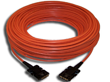 98ft DVI-D (M) to DVI-D (M) Fiber/Copper Hybrid Cable