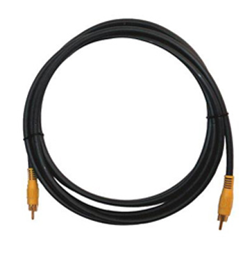 Kramer C-RVM/RVM-75 1 RCA (M) to 1 RCA (M) Molded Cable
