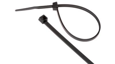 Liberty CT-UV-4 4 inch 18LB UV Cable Tie, Black