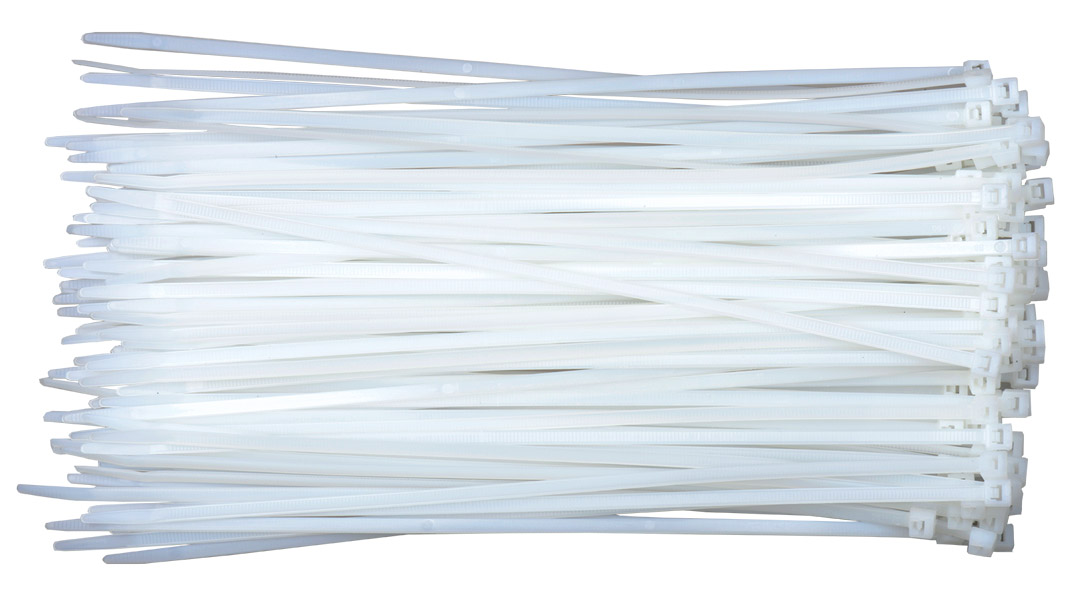 Liberty CT-8 8 inch 40LB Cable Tie, White