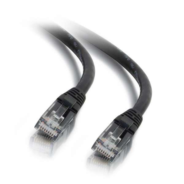 C2G 50ft Cat6 Snagless Unshielded Ethernet Network Cable - Black (UTP)