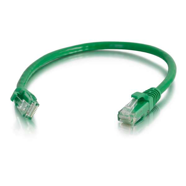 C2G 100ft Cat6 Snagless Unshielded Ethernet Network Cable - Green